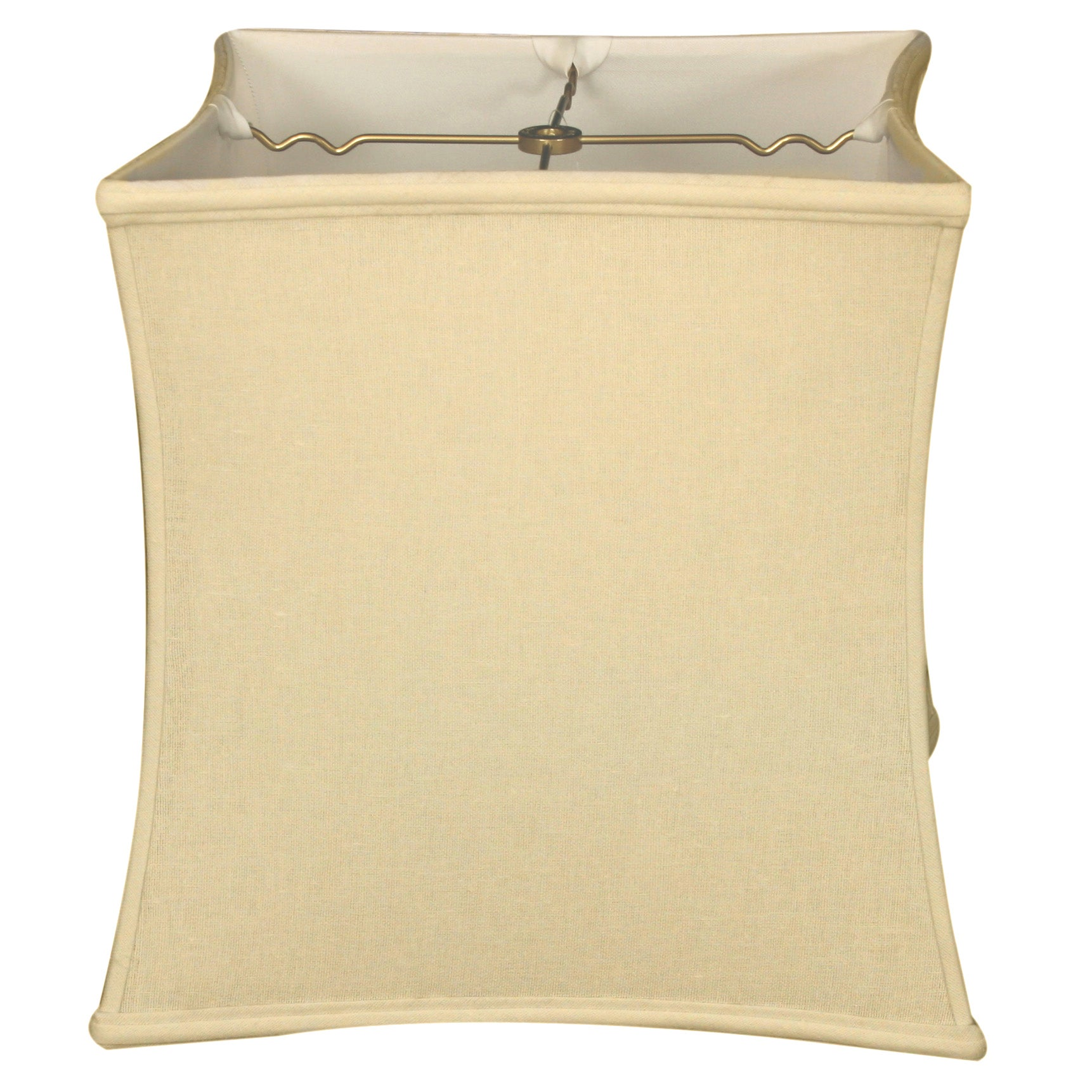 Shop Royal Designs Square Cube Bell Basic Lamp Shade Linen Cream 12 X 13 X 13 Overstock 14800853