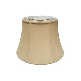 Royal Designs Modified Bell Lamp Shade, Antique Gold, 9 x 14 x 10.5