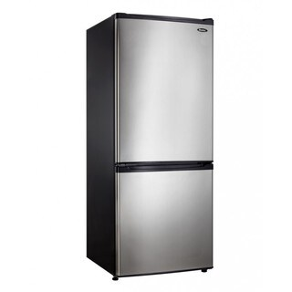 Danby DFF092C1BSLDB 9.20 cu. ft. Refrigerator Black and Stainless Steel