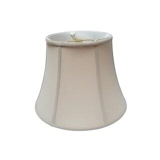 Royal Designs Modified Bell Lamp Shade, Linen Beige, 6.5 x 10 x 8.5