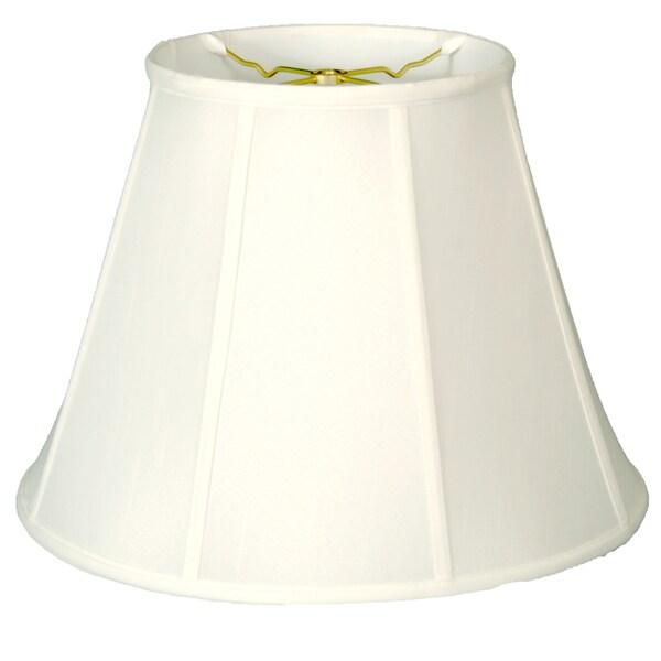 Royal Designs Deep Empire Lamp Shade, White, 11 x 22 x 16