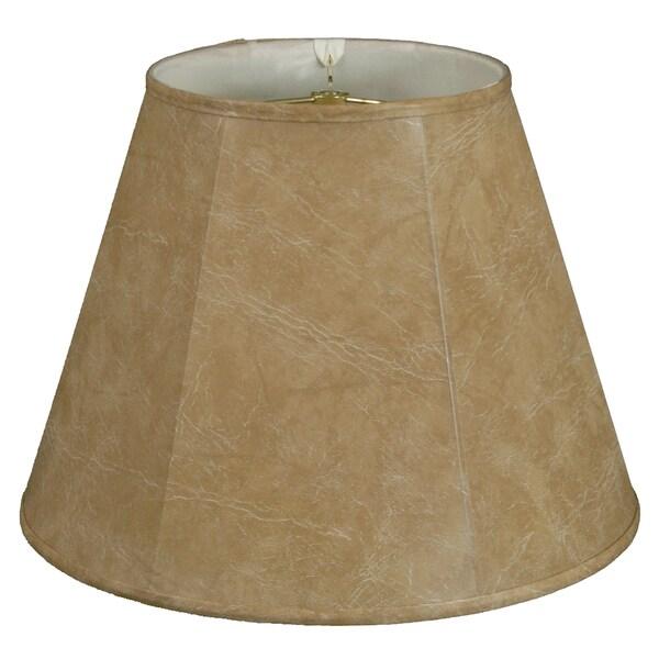 Royal Designs Deep Empire Lamp Shade, Mouton, 11 x 22 x 16