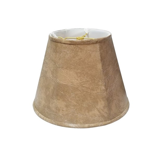 Royal Designs Deep Empire Mouton Lamp Shade, 11 x 22 x 16