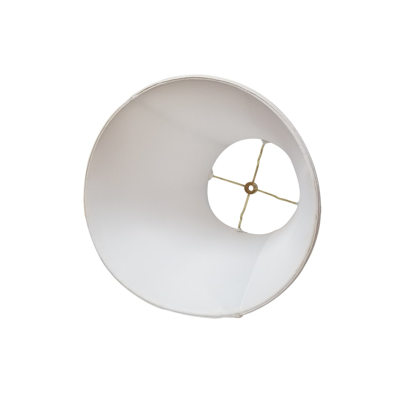 Royal Designs Deep Empire Linen White Lamp Shade 11 X 22 X 16 On Sale Overstock 14800918