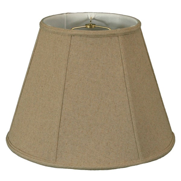Royal Designs Linen Cream Deep Empire Lamp Shade