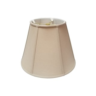 Royal Designs Deep Empire Lamp Shade, Linen Beige, 11 x 22 x 16