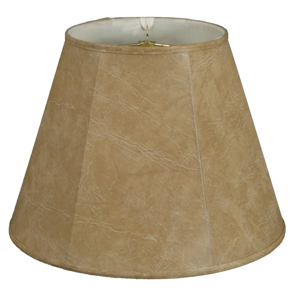 Royal Designs Deep Empire Lamp Shade, Mouton, 10 x 20 x 15