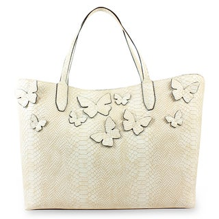 Emilie M. Kimona Double Shoulder Tote Bag