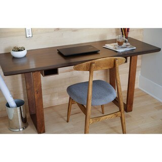 Hives & Honey Haven Home Aiden Walnut-finish Wood and Veneer Writing Desk
