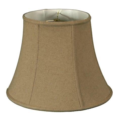 Royal Designs Modified Bell Linen Cream Lamp Shade, 10.5 x 17 x 13.5