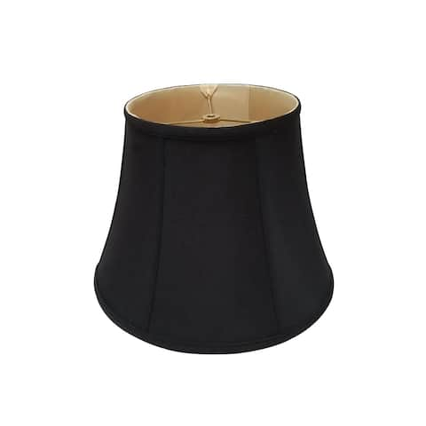 Royal Designs Modified Bell Black Lamp Shade, 10.5 x 17 x 13.5