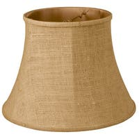 Royal Designs Modified Bell Lamp Shade, Burlap, 10 x 16 x 12.5
