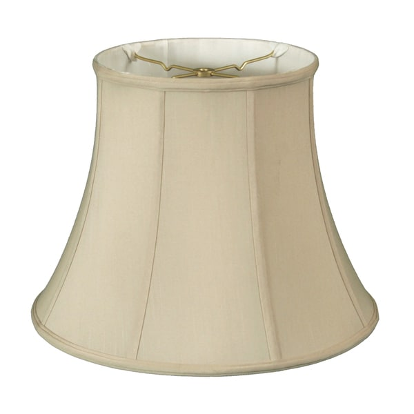 Royal Designs Modified Bell Lamp Shade, Beige, 10 x 16 x 12.5