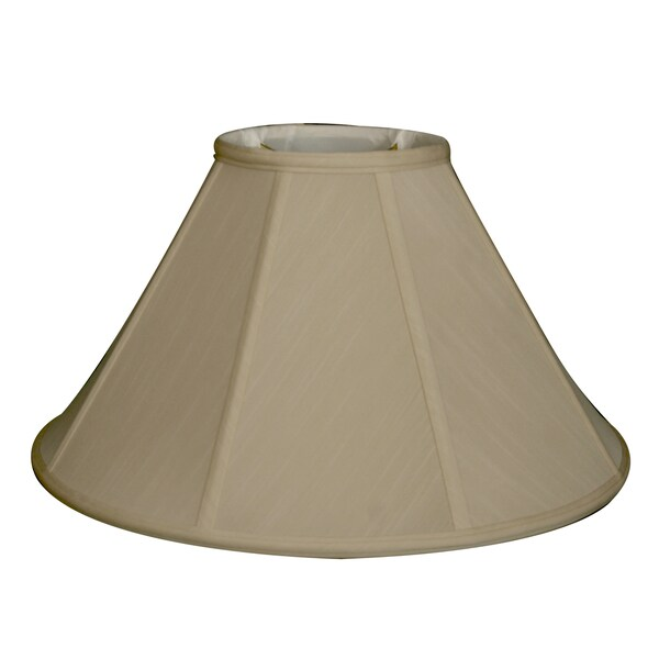 Royal Designs Empire Lamp Shade, Beige, 7 x 20 x 12.5