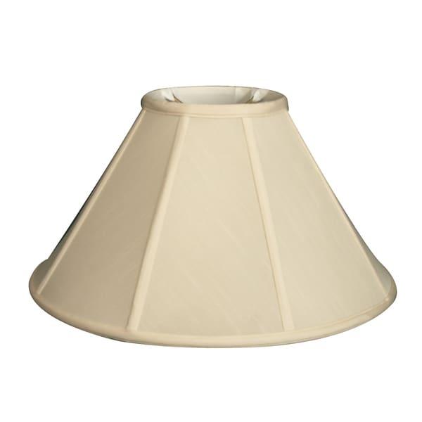 Royal Designs Empire Lamp Shade, Eggshell, 7 x 20 x 12.5