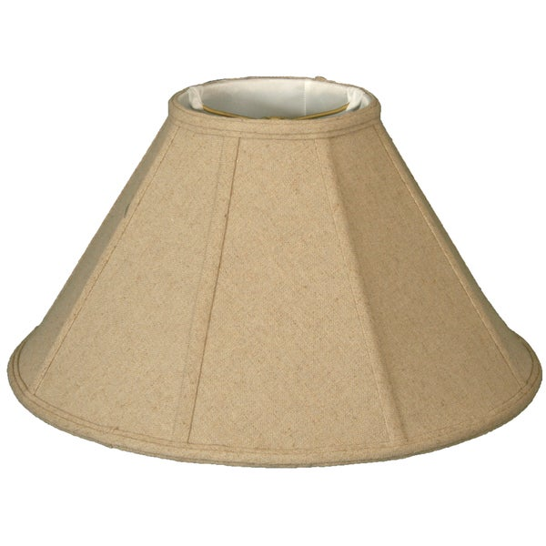 Royal Designs Empire Lamp Shade, Linen Cream, 6 x 18 x 11.5