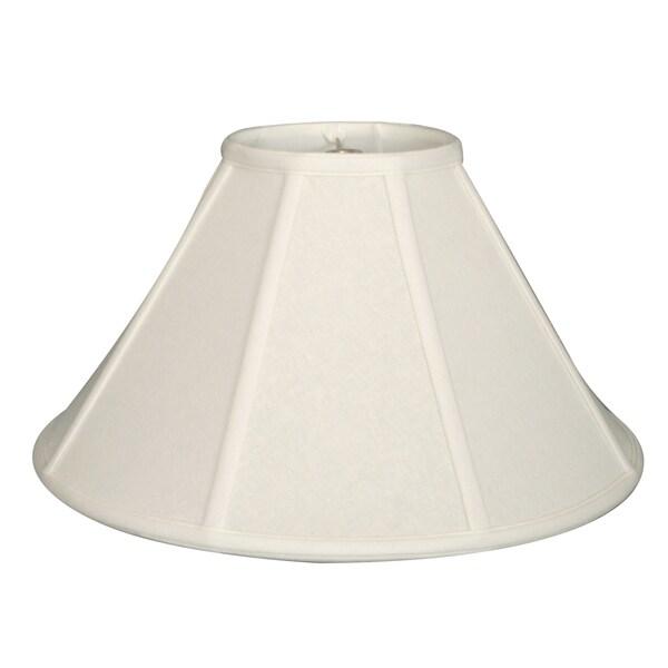 Royal Designs Empire Lamp Shade, Linen White, 6 x 18 x 11.5