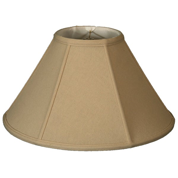 Royal Designs Empire Lamp Shade, Linen Beige, 6 x 18 x 11.5