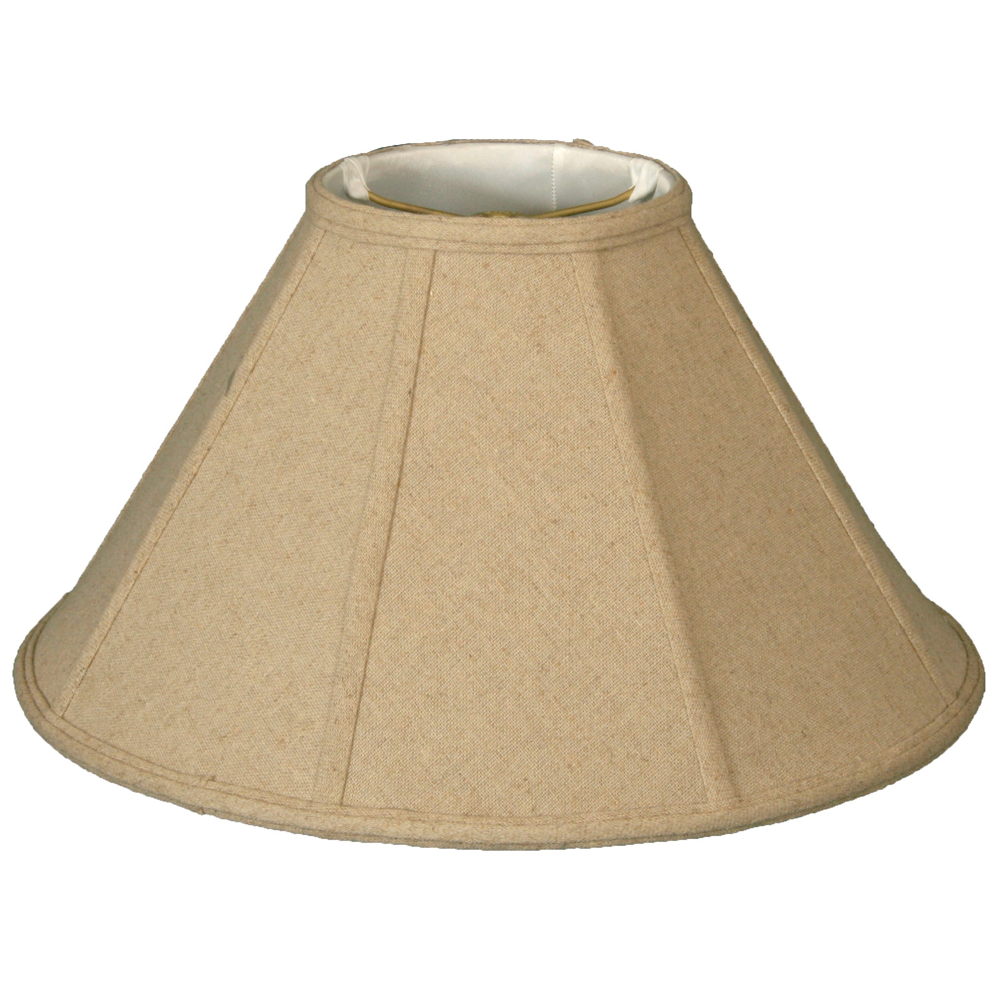 Royal Designs Coolie Empire Linen Cream Lamp Shade 6 X 16 X 10 On Sale Overstock 14801252