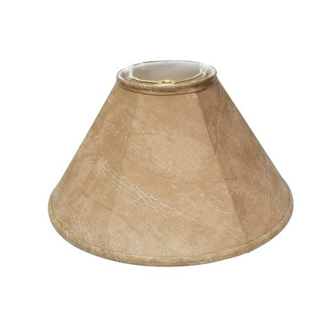 Royal Designs Coolie Empire Mouton Lamp Shade, 4.5 x 12 x 7.5