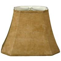 Royal Designs Rectangle Cut Corner Lamp Shade, Mouton, 6 x 8 x 9 x 14 x 10.5