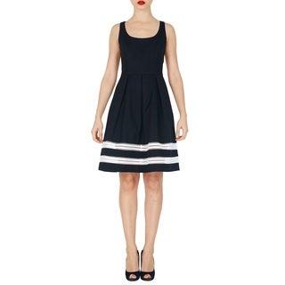 Proenza Schouler Black Pique Dress