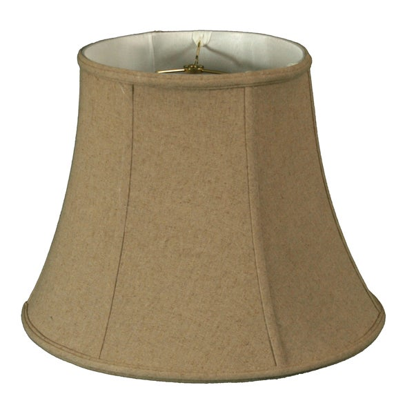 Royal Designs Timeless Linen Cream Modified Bell Lamp Shade