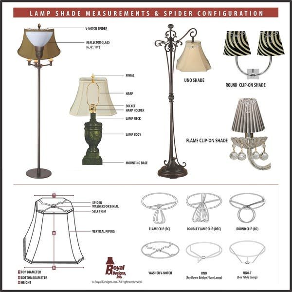 Royal Designs Modified Bell Linen Beige Lamp Shade 12 X 20 X 15 On Sale Overstock 14801401