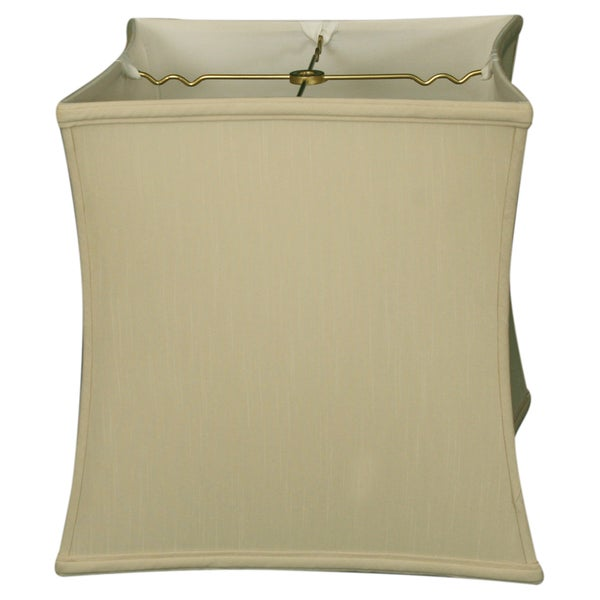 Royal Designs Square Cube Bell Basic Lamp Shade, Beige, 10.5 x 11 x 12