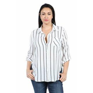 24/7 Comfort Apparel Waterside Elegance Plus Size Top