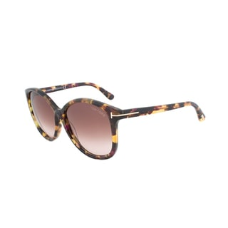 Tom Ford Alicia FT0275 Women's Tortoise Frame Brown with Gradient Lens Sunglasses