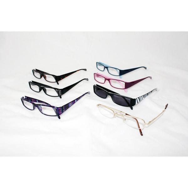 Attrayant Womenu0026#x27;s 7 Piece Fashion Readers Set