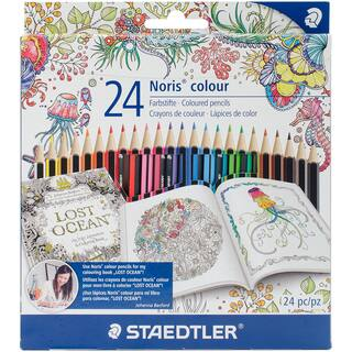 Staedtler Colored Pencil Set 24pc-Multi|https://ak1.ostkcdn.com/images/products/14802345/P21321356.jpg?impolicy=medium