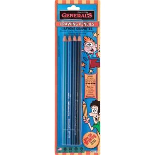 Drawing Pencil Set 4/Pkg-HB, 3B, 5B, & 6B
