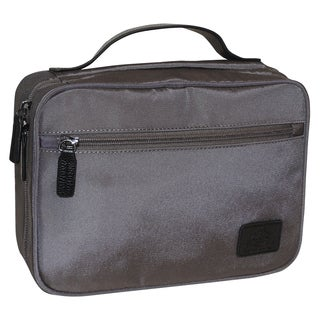 Dopp Commuter Flip-out Blue and Grey Hanging Toiletry Bag