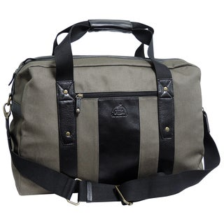 Dopp Hampton Green Fabric Carry-on Duffel Bag