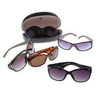 Women's Plastic 5-piece Sunglass Collection
