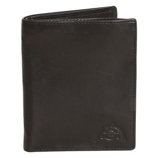 Dopp Carson Leather Bifold Travel Wallet