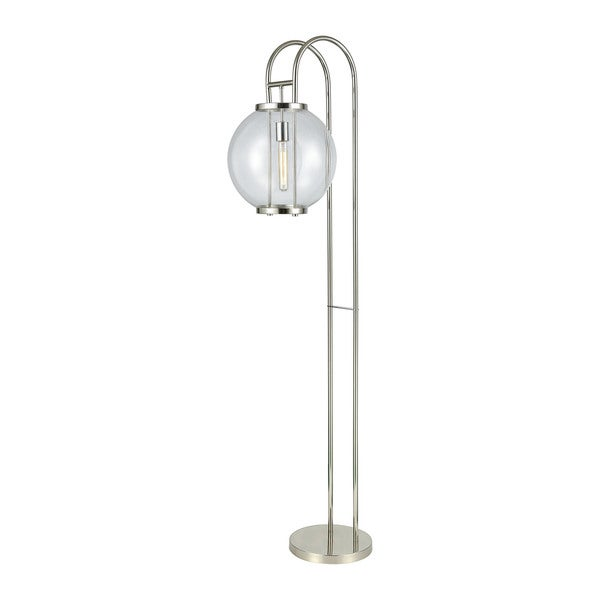 Dimond Lighting Orboculum Pewter-finish Metal and Glass Floor Lamp