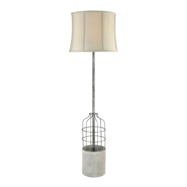 Diamond Lighting Rochefort Metal and Concrete Floor Lamp