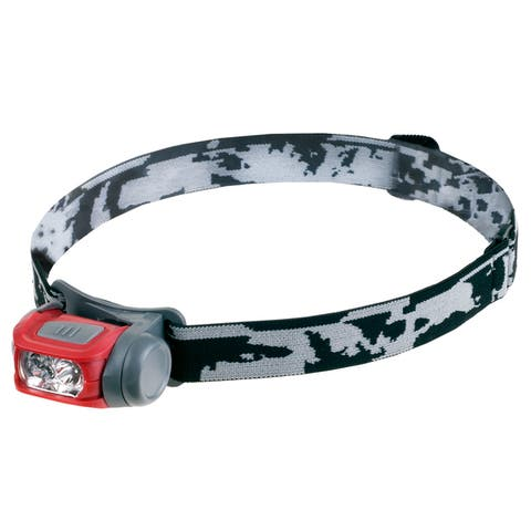 Lightweight LED Headlamp with 3 Modes and 100 Lumen CREE Light Bulbs By Wakeman Outdoors