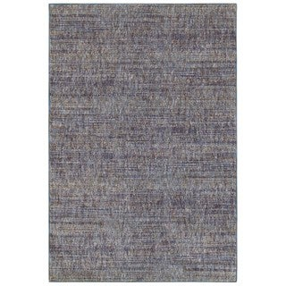 Style Haven Tonal Textures Purple/Grey Area Rug (6'7 x 9'6)