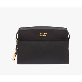 Prada Esplanade Saffiano Leather Shoulder Handbag