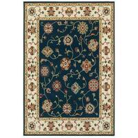 Shop Safavieh Handmade Roslyn Navy Multi Wool Rug 6 X
