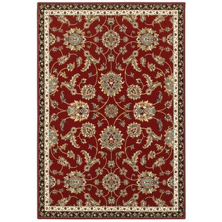 "Gracewood Hollow Claude Floral Red/Multicolor Area Rug - 6'7"" x 9'6"""