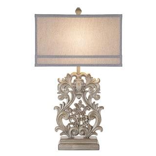 Gracewood Hollow Zakaria Ornate Table Lamp - Thumbnail 0