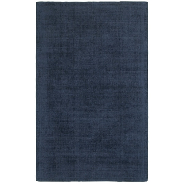 Style Haven Monochromatic Plush Blue Hand-tufted Area Rug - 5' x 8'
