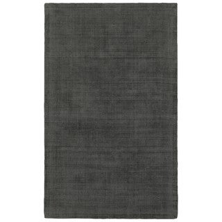 Style Haven Charcoal Monochromatic Plush Hand-tufted Area Rug (5' x 8')
