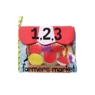 Manhattan Toy Farmer's Market Fabric Book