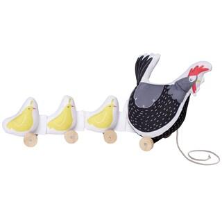 Manhattan Toy Farmer's Market Chicken Pull Toy